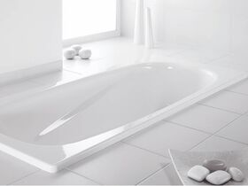 Kado Lux Bath Pressed Steel 1700mm x 750mm White