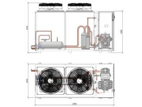 ACPAC Packaged Condensing Unit APS64.2Ml2-1