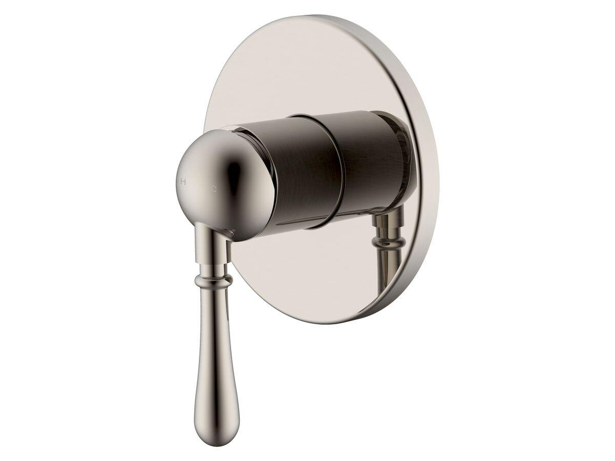 Milli Voir Shower Mixer Tap Brushed Nickel
