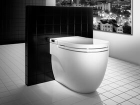 Roca Meridian In Tank Back To Wall Pan with Soft Close Seat White (4 Star)