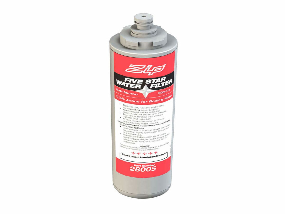 Zip Replace Filter 5 Triple Action Star 200mm