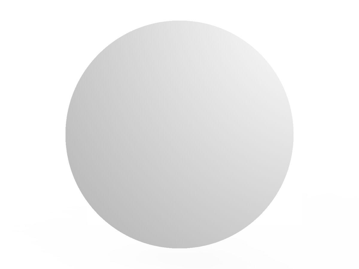 Posh Domaine Round Mirror Vanity Unit