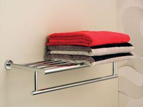 Mizu Drift Towel Rack 530mm Chrome