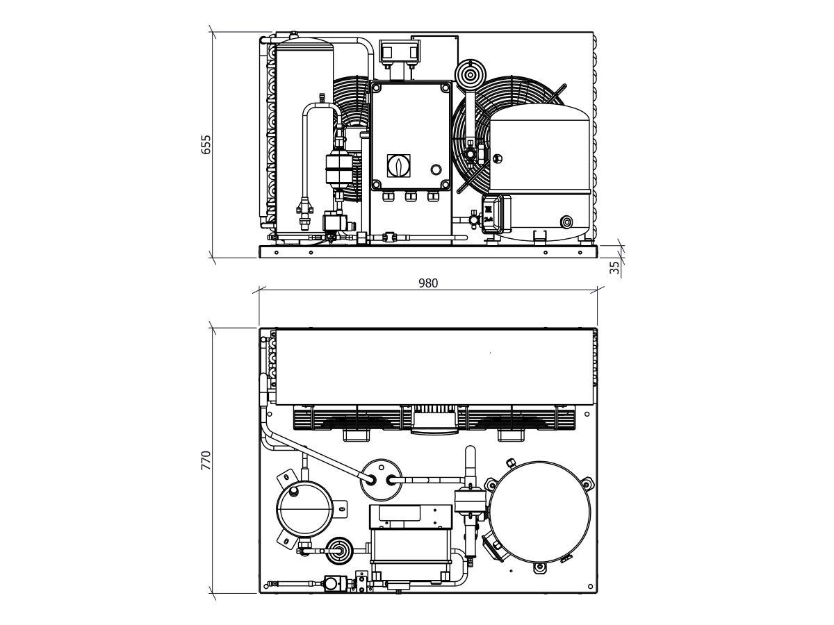 Ryker Dairy Unit GH112MHA1-2 5.7hp