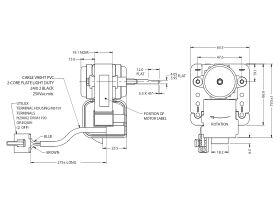 J06Bm15 Fan Motor 4W Kirby (Clock)