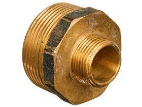 Nipple Hex Reducing Brass 40mm x 20mm