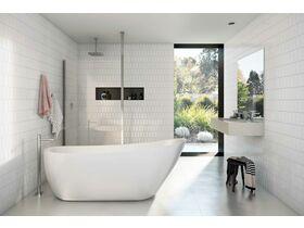 Kado Arc Freestanding Bath 1730mm x 780mm White