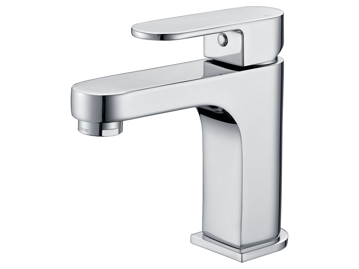 Mizu Soothe Basin Mixer Chrome