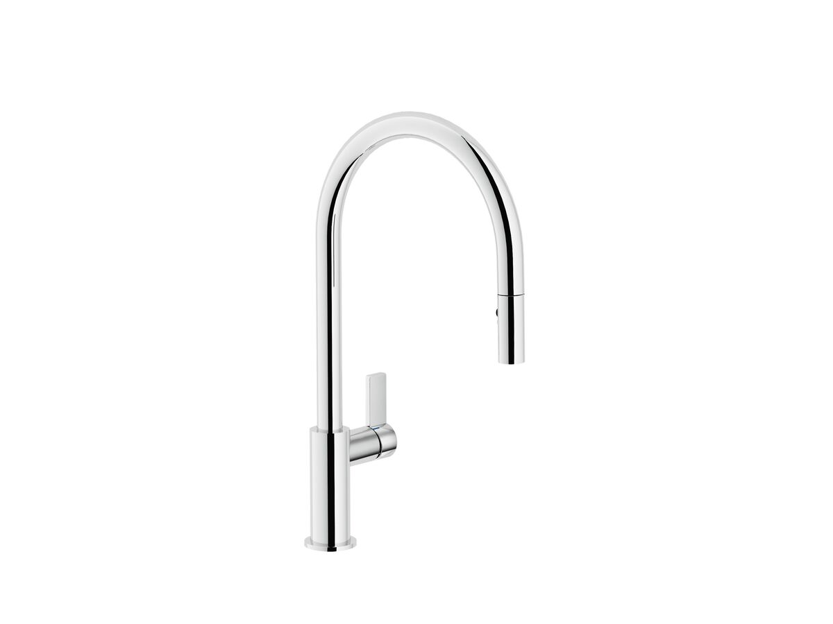 Nobili Flag Pull Out Sink Mixer Chrome (4 Star)