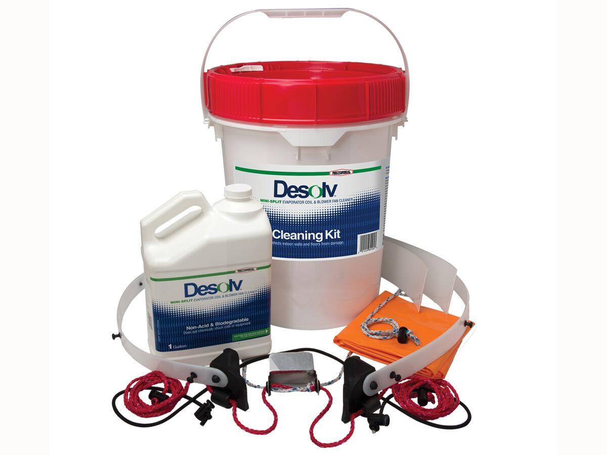 Desolv Mini-Split Evaporator Coil Cleaning Kit