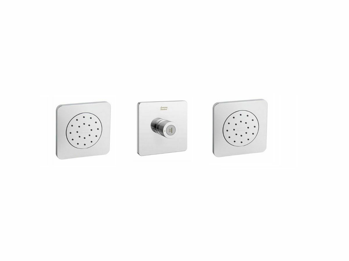 American Standard EasySET Double Body Spray Add - On to EasySET Thermostat Chrome