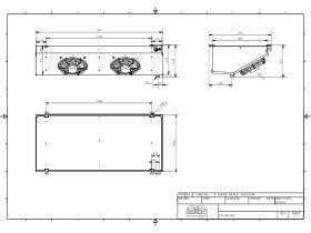 Cabero Low Profile Evaporator Medium Temperature LPC4E2-30-1