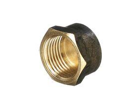 Cap Brass 15mm