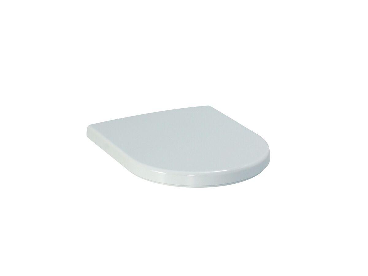 LAUFEN PRO A SC TOILET SEAT WHITE/CP