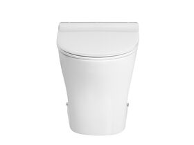 American Standard Signature Back to Wall Pan with Soft Close Quick Release White Seat (4 Star)