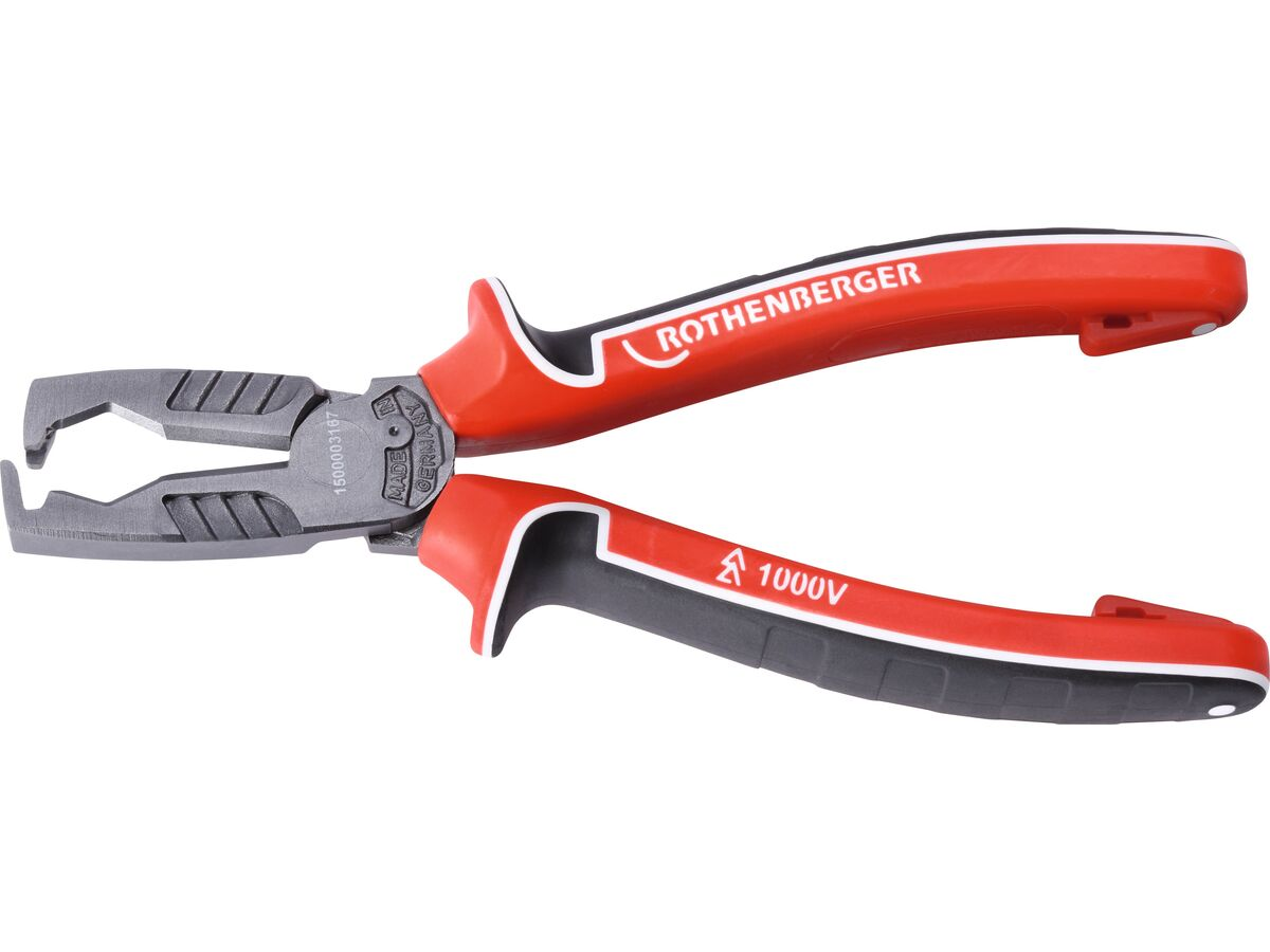 Rothenberger Electrical Multi Insulation Stripping Plier 180mm