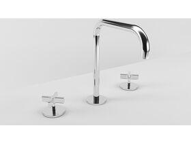 Milli Exo Hob Sink Set Chrome (4 Star)