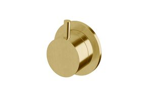 Scala Diverter Only LUX PVD Brushed Pure Gold