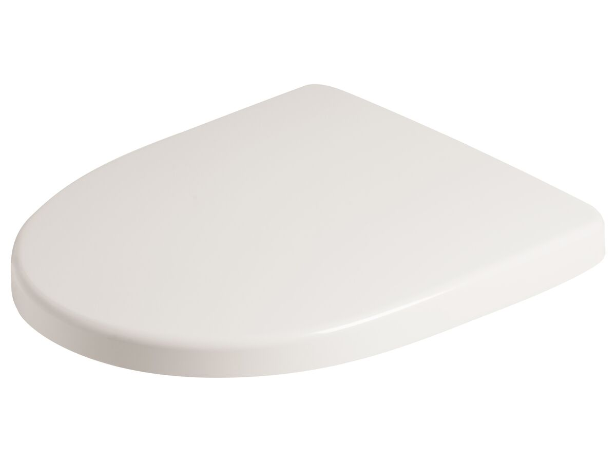 American Standard Cygnet Soft Close Quick Release Toilet Seat (Suit Close Coupled/ Close Coupled Back to Wall) White