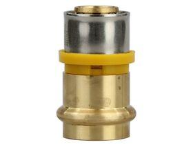 Duopex Crimp Adaptor 26mm x DN25 B-Press Gas