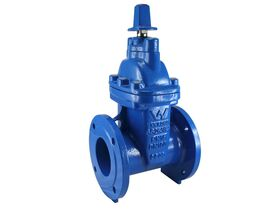 Dura Resilient Seated Sluice Valve Clockwise Closing Flange x Flange