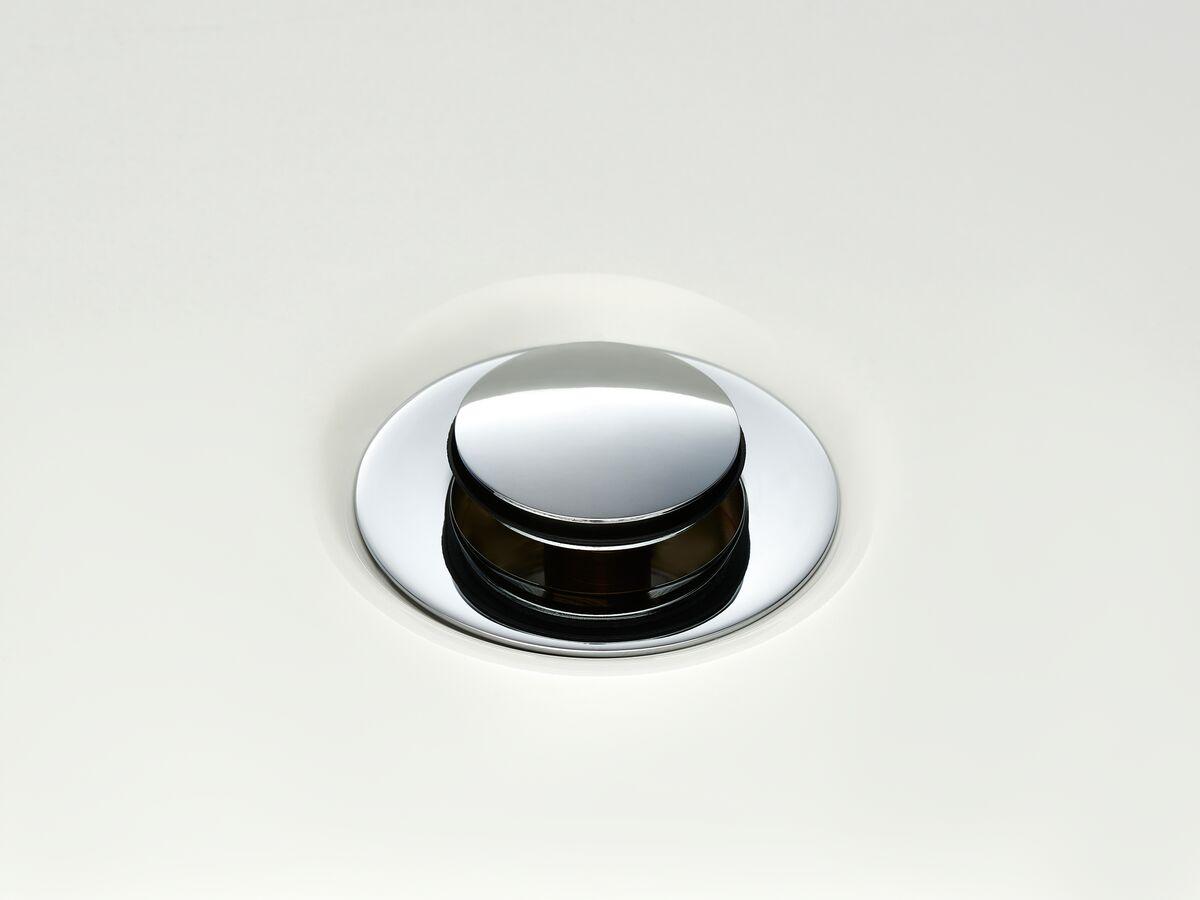 Mizu Drift Universal DN40 Pop Up Plug & Waste Chrome