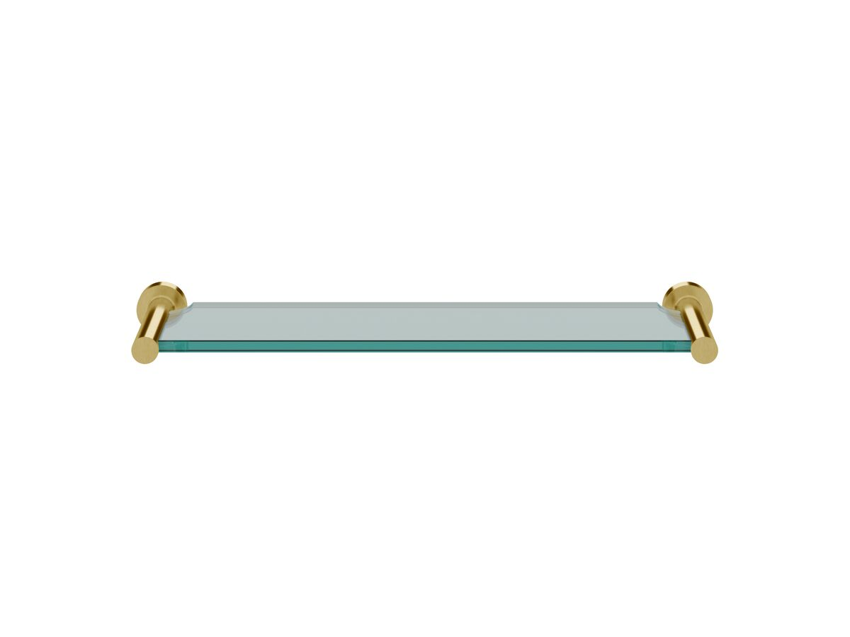 Scala Vanity Shelf LUX PVD Brushed Pure Gold