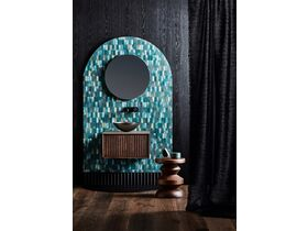 Issy Halo Vanity Unit with Latch Drawer