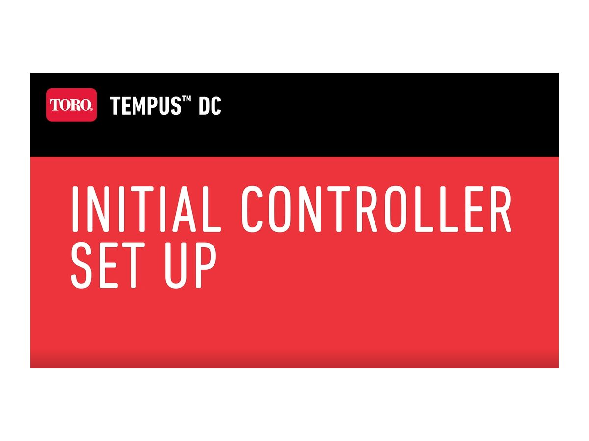 Initialing the Controller