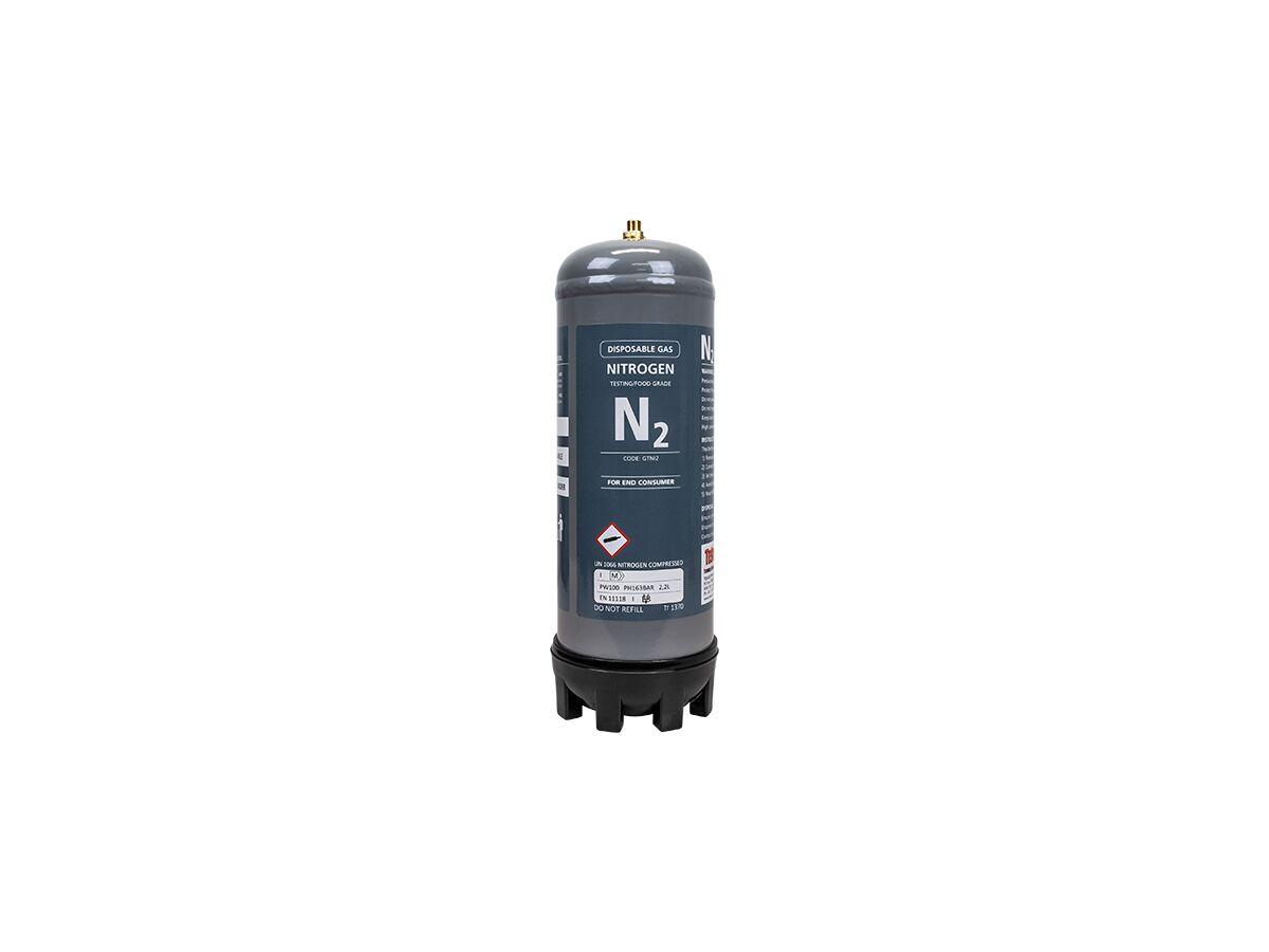 Tesuco Disposable Nitrogen Gas Cylinder