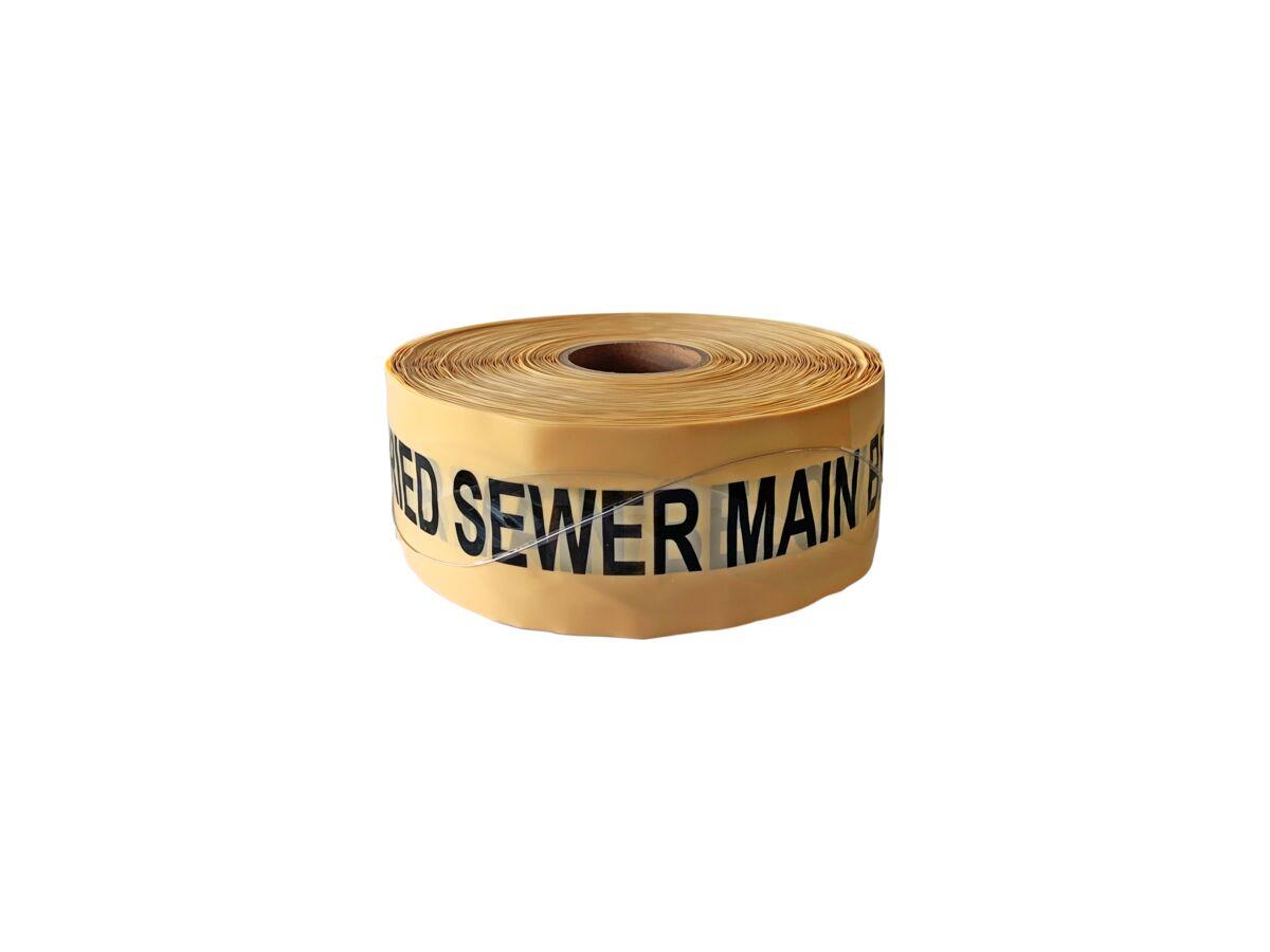 Bridgland Detectable Tape Sewer Main 100mm x 250mtr