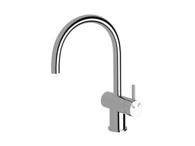 Scala Sink Mixer Large Curved Spout Right Hand Chrome (4 Star)