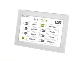 """Myzone 2 - 7"""" White Touch Screen"""""""