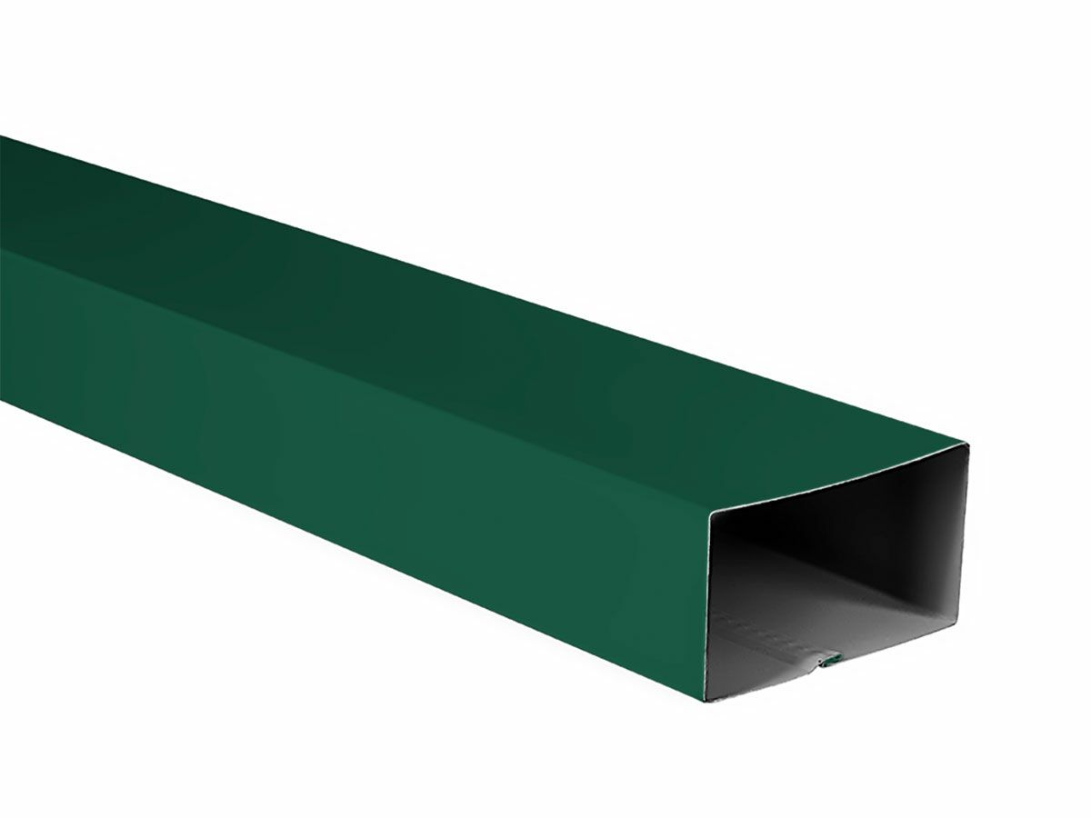 Cottage Green Downpipe Rectangle