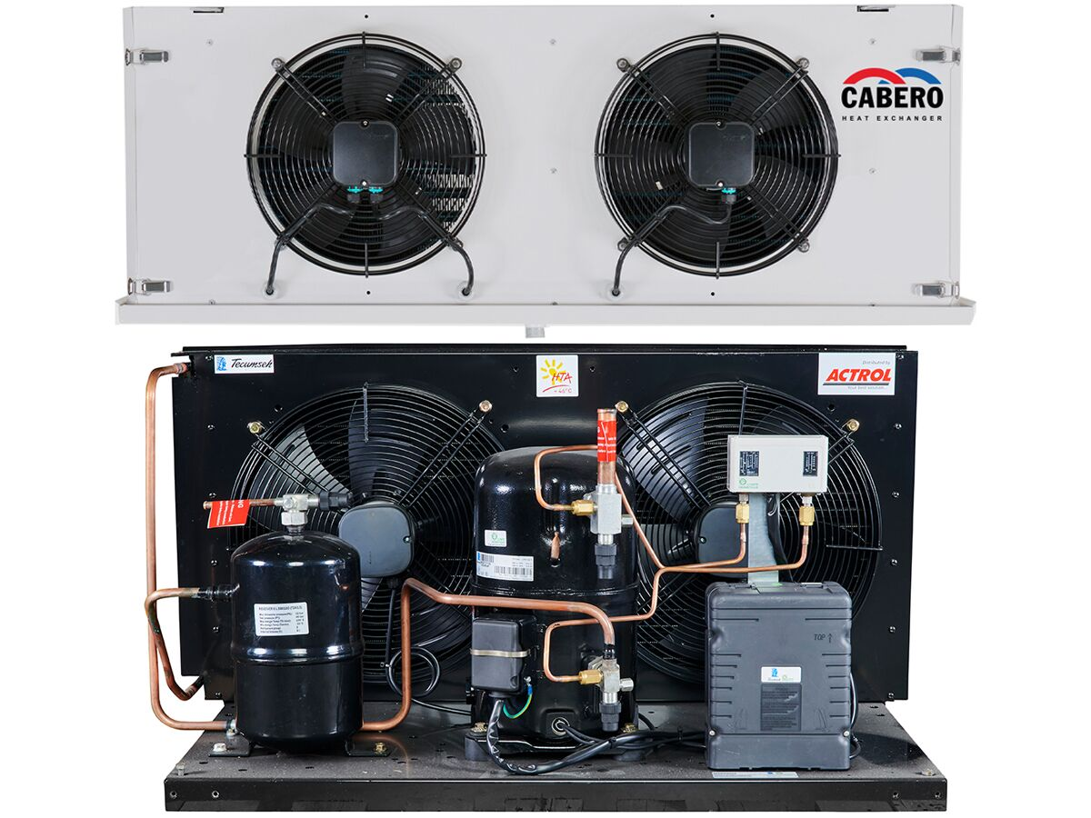 2.75hp 3PH HTA Unit & Cabero Combination R134A