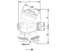 TA Hydronics Modulator DN