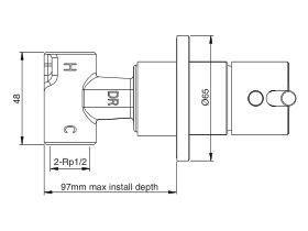 Mizu Drift MK2 Shower Body Extension