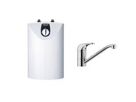 STIEBEL ELTRON SNU 10 + MES Mixer - Open Vented Compact Storage Water Heater
