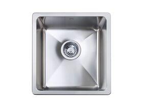 Memo Hugo Single Bowl Sink No Taphole Stainless Steel