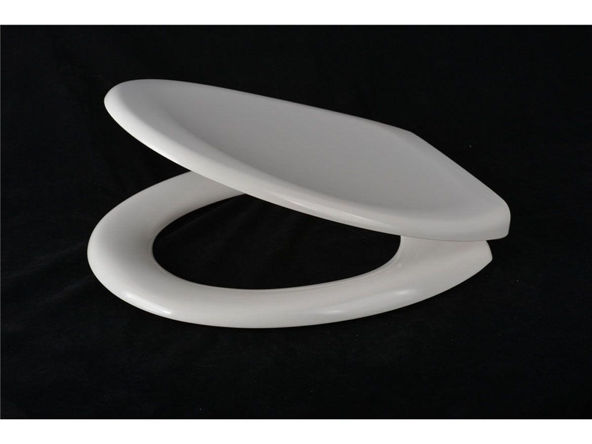Quick Release Soft Close Toilet Seat White