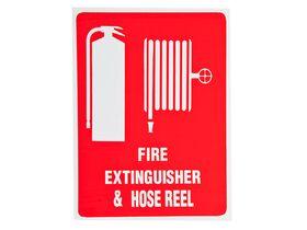 Location Signs Extinguisher & Hose Reel - Plastic
