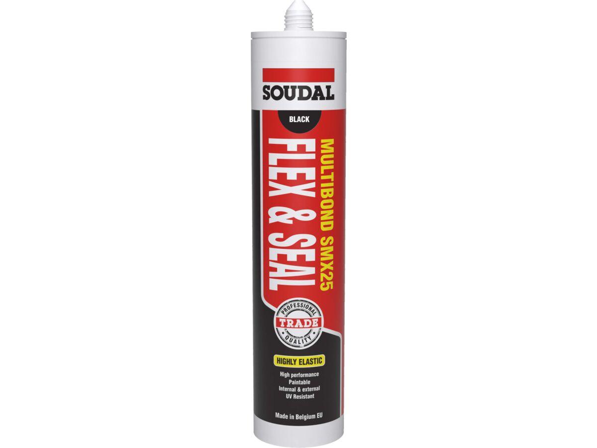 Soudal Multibond SMX25 Flex & Seal Black 290ml