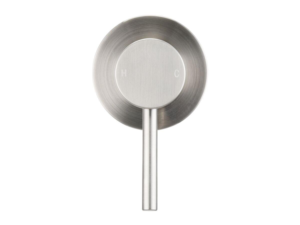 Mizu Drift MK2 Shower Mixer Tap Brushed Nickel