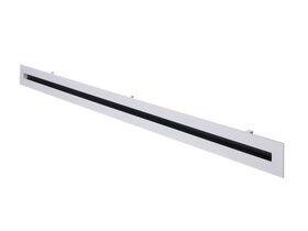Bradflo U-Blade Linear Diffuser 1 Slot Complete