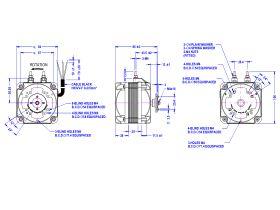 Universal Square Fan Motor 10 watt