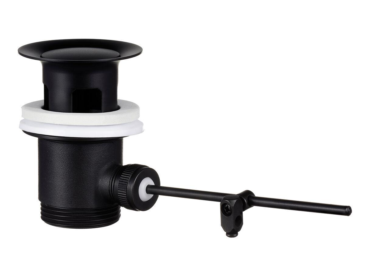 Mizu Drift Bidet/Basin Lever Pop Up Waste 32mm x 40mm Overflow Matte Black