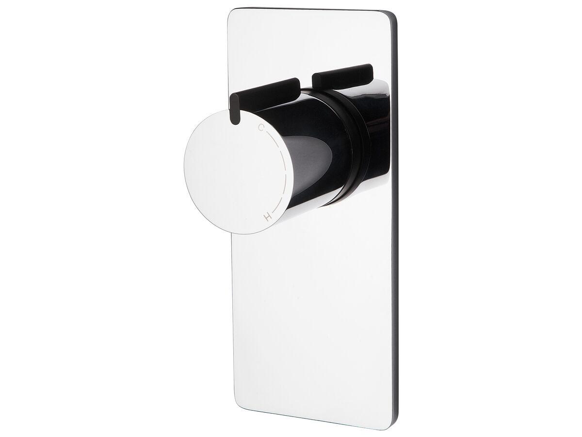 Milli Axon Shower Mixer Chrome / Black
