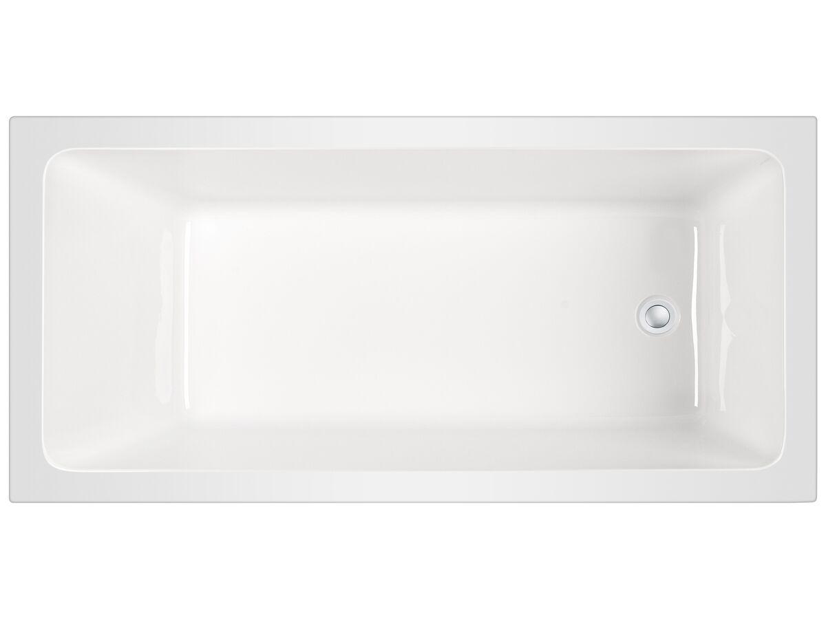 Posh Domaine Inset Bath 1690 x 800 x 500mm White