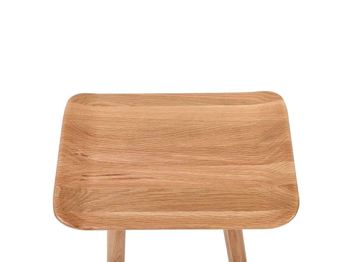 Kado Arc Wooden Stool American Solid Oak