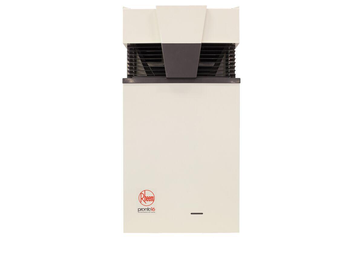Rheem Pronto Instantaneous Hot Water Unit 16L LPG